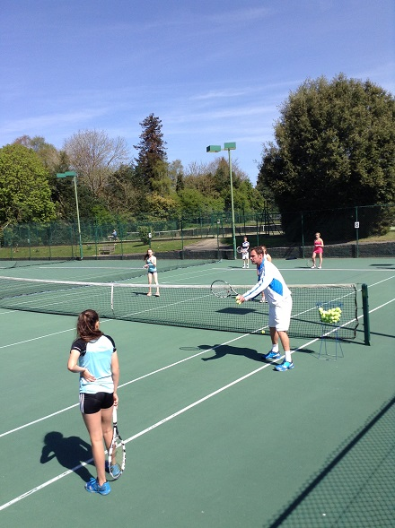Andy Borgoyne junior coaching