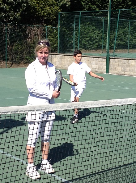 Sally Taylor - tennis coach