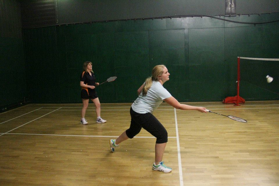 badminton teams at The Limpsfield Club