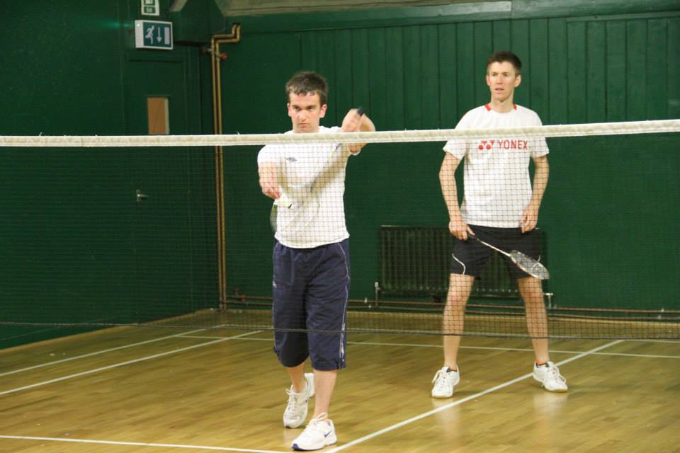 Junior badminton coaching at The Limpsfield Club