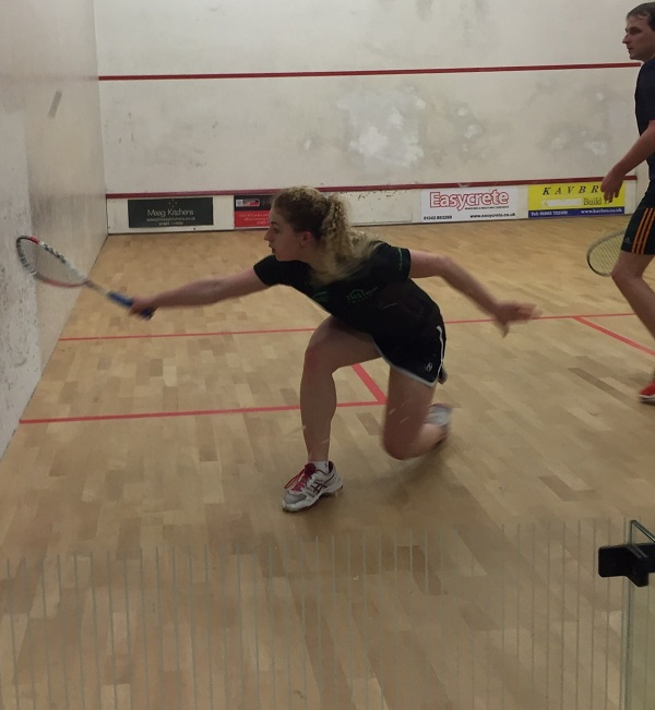 Playing squash and racketball at The Limpsfield Club